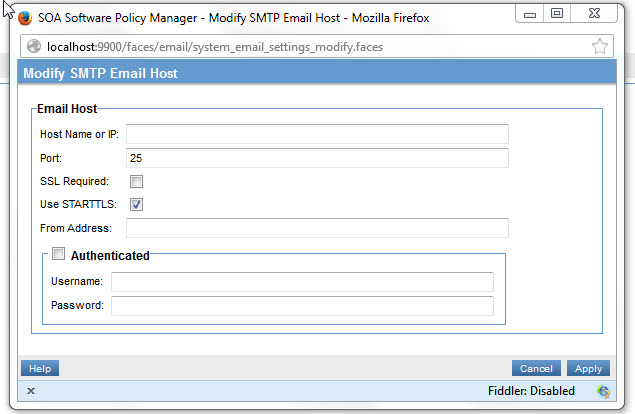 Troubleshooting for Policy Manager