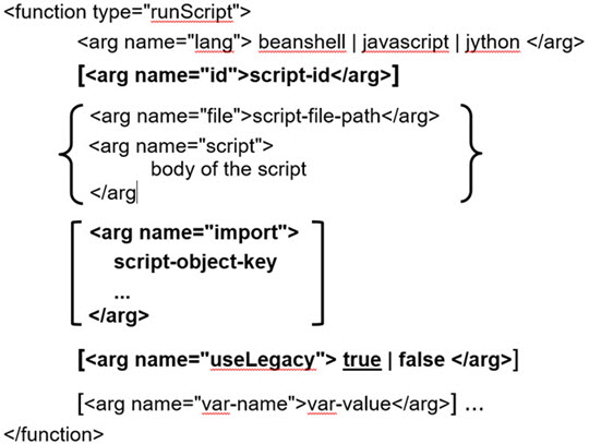 Using Scripts in Workflows